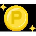 クリーニング料金300円毎に1ポイントアップ、合計30ポイントたまると500円のクリーニングチケットを差し上げます。
